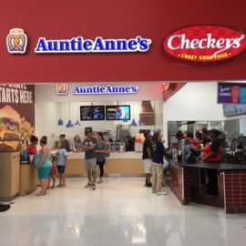 Checkers & Auntie Anne's at Walmart Newnan